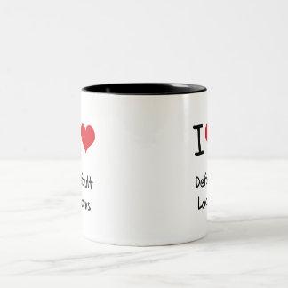 I Love Default Loans Coffee Mug