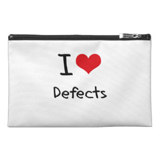 I Love Defects Travel Accessory Bags