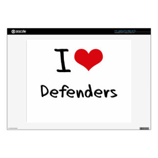 "I Love Defenders 14"" Laptop Decal"