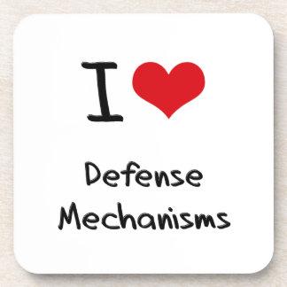 I Love Defense Mechanisms Coaster