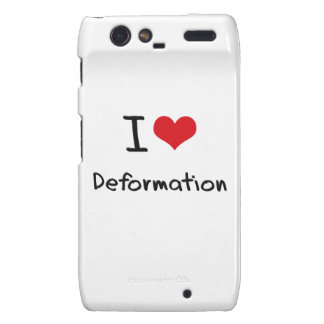I Love Deformation Motorola Droid RAZR Case