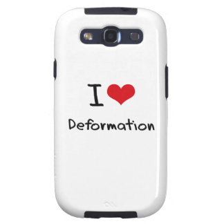 I Love Deformation Galaxy S3 Cover