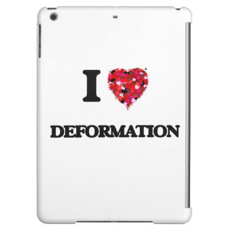 I love Deformation Case For iPad Air