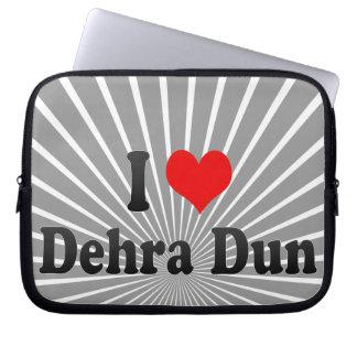 I Love Dehra Dun, India Laptop Sleeve