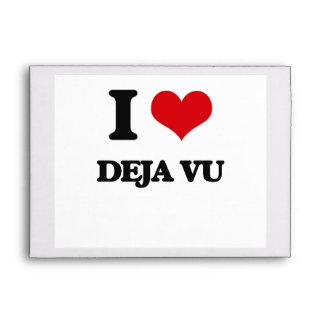 I love Deja Vu Envelopes