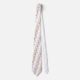 I Love Dekalb, IL Neck Tie