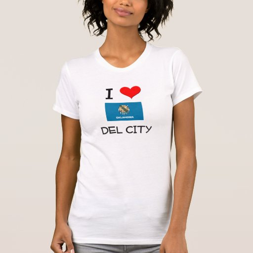 I Love Del City Oklahoma Camisetas