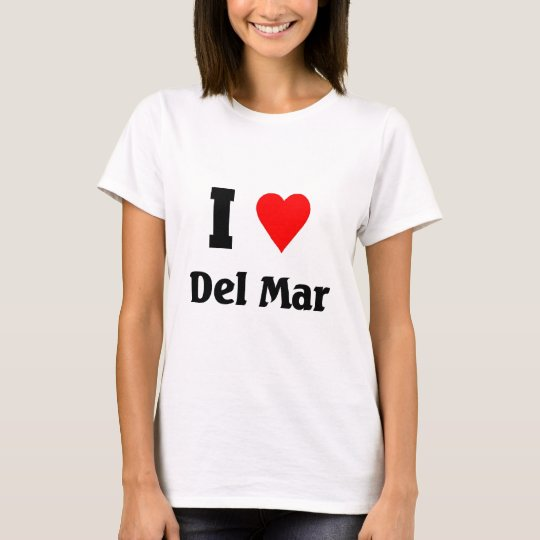 I love Del mar T-Shirt