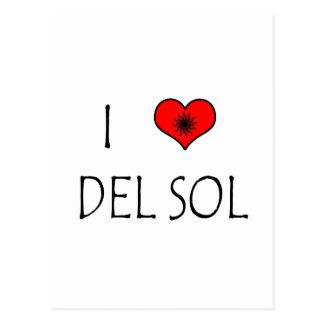 I Love Del Sol Postal