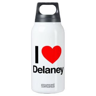 i love delaney 10 oz insulated SIGG thermos water bottle