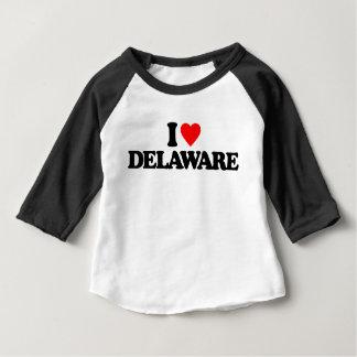 I LOVE DELAWARE INFANT T-SHIRT