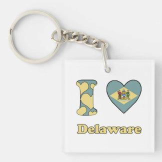 I love Delaware Keychain