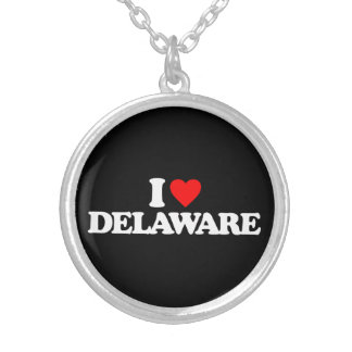 I LOVE DELAWARE NECKLACES