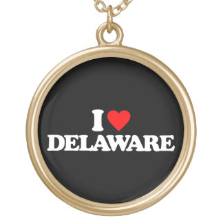 I LOVE DELAWARE NECKLACE