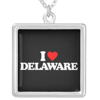 I LOVE DELAWARE PENDANTS