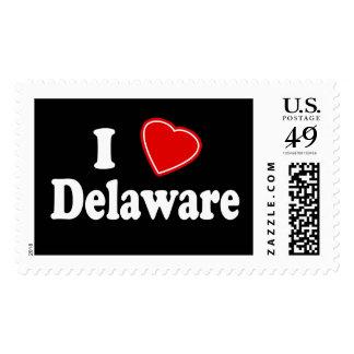 I Love Delaware Stamp