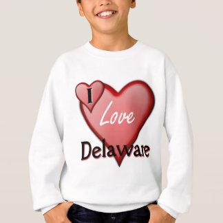 I Love Delaware Sweatshirt