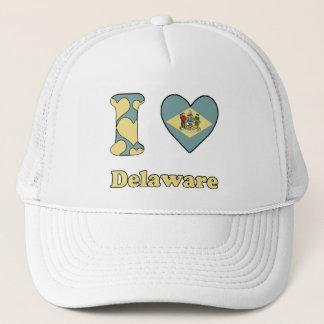 I love Delaware Trucker Hat