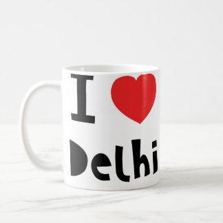 I love Delhi Coffee Mug