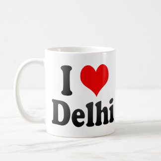 I Love Delhi, India. Mera Pyar Delhi, India Coffee Mug