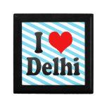 I Love Delhi, India. Mera Pyar Delhi, India Gift Box