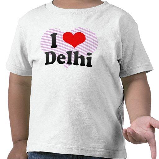 I Love Delhi, India. Mera Pyar Delhi, India Tshirt