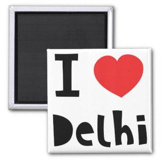 I love Delhi Magnet