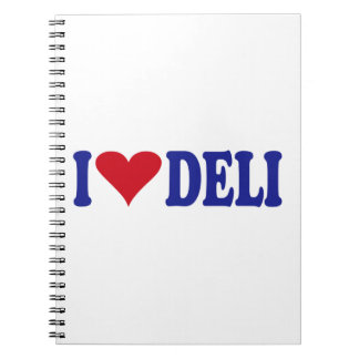 I Love Deli Notebook