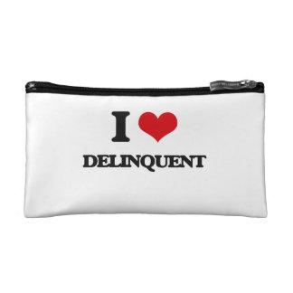 I love Delinquent Cosmetics Bags