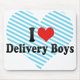 I Love Delivery Boys Mouse Pad