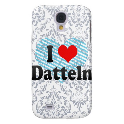 I Love Deln, Germany Samsung Galaxy S4 Covers