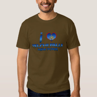 I love Delphi Falls, New York T Shirts