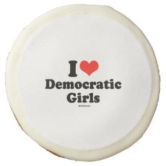 I LOVE DEMOCRATIC GIRLS SUGAR COOKIE