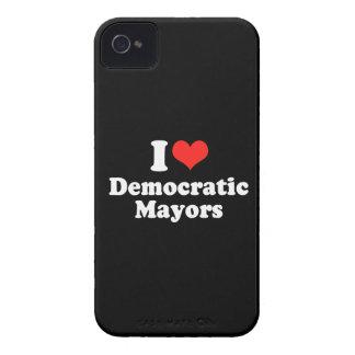I LOVE DEMOCRATIC MAYORS.png Case-Mate Blackberry Case