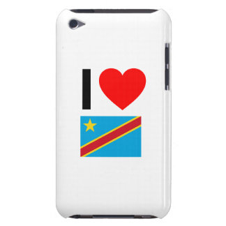 i love democratic republic of the congo iPod touch covers