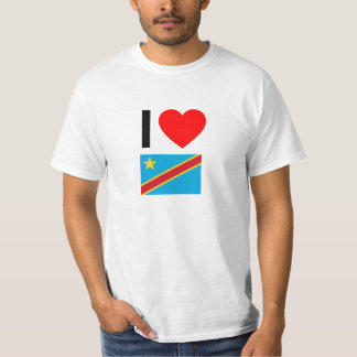 i love democratic republic of the congo T-Shirt