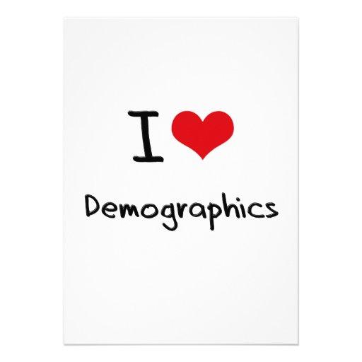 I Love Demographics Announcements