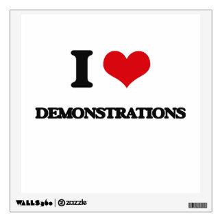 I love Demonstrations Wall Sticker
