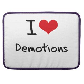 I Love Demotions MacBook Pro Sleeves