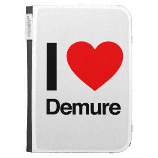 i love demure kindle 3G case