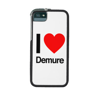 i love demure cover for iPhone 5/5S