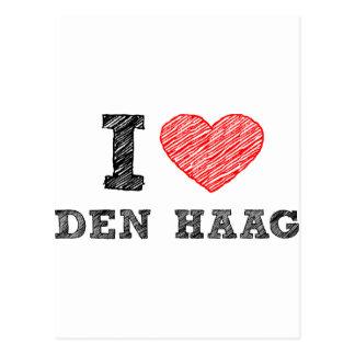 I love Den Haag Postcard