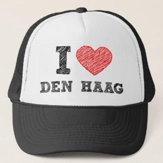 I love Den Haag Trucker Hat