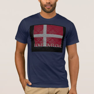 I love Denmark Cool T-Shirt