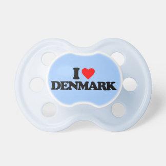 I LOVE DENMARK PACIFIER