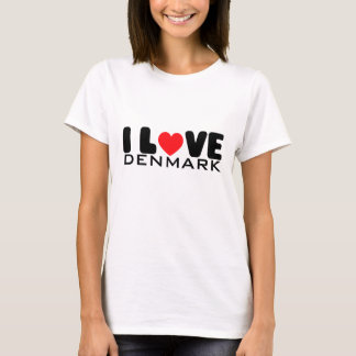 I love Denmark | T-Shirt