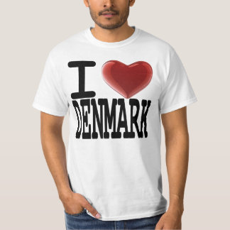 I Love DENMARK T-Shirt