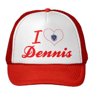 I Love Dennis, Massachusetts Trucker Hat