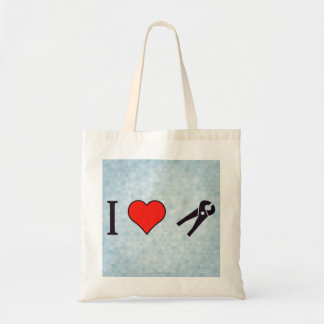 I Love Dentist Tools Tote Bag