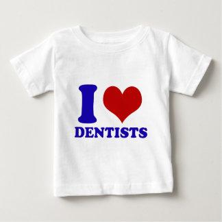 I Love dentists design Baby T-Shirt